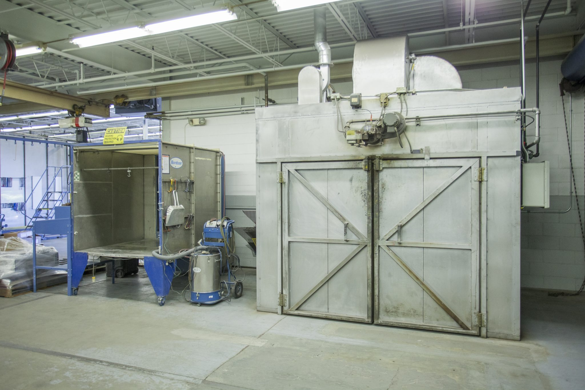 Batch Booth Oven Powder Coating