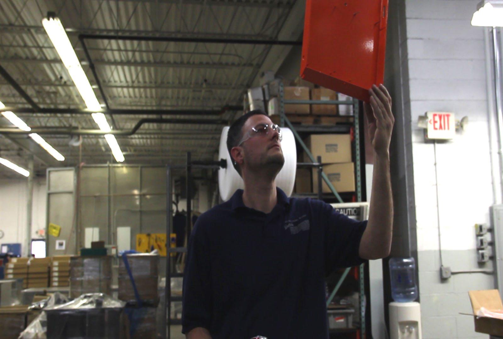 Inspection off conveyor