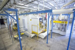 Automatic Power Coating Booth Conveyor